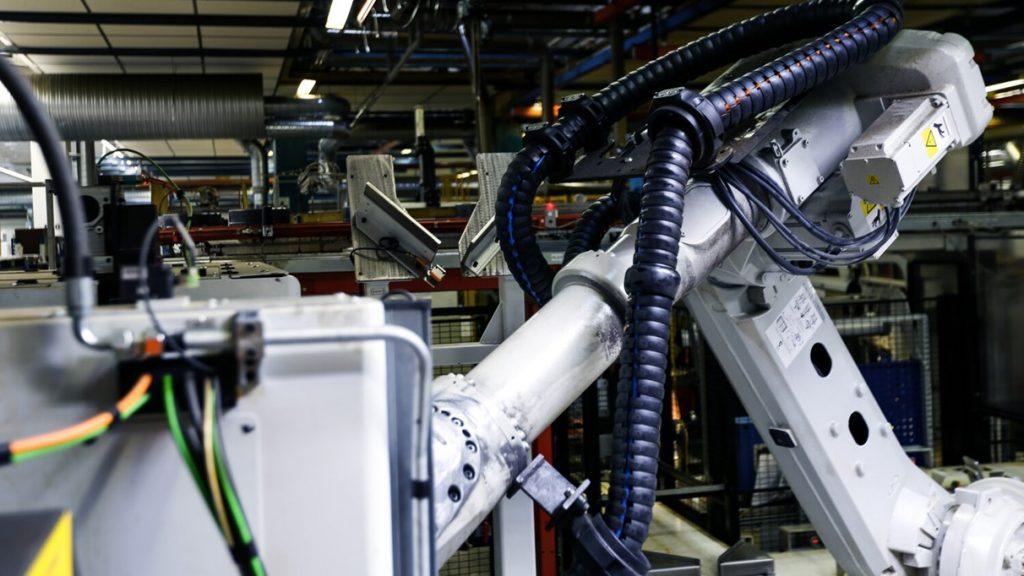 PLC Robotic Arm